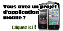 projet applications mobiles